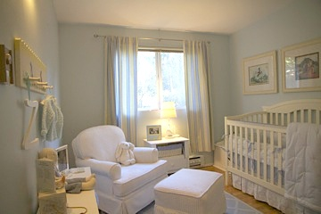 One Nursery Done Two Different Ways