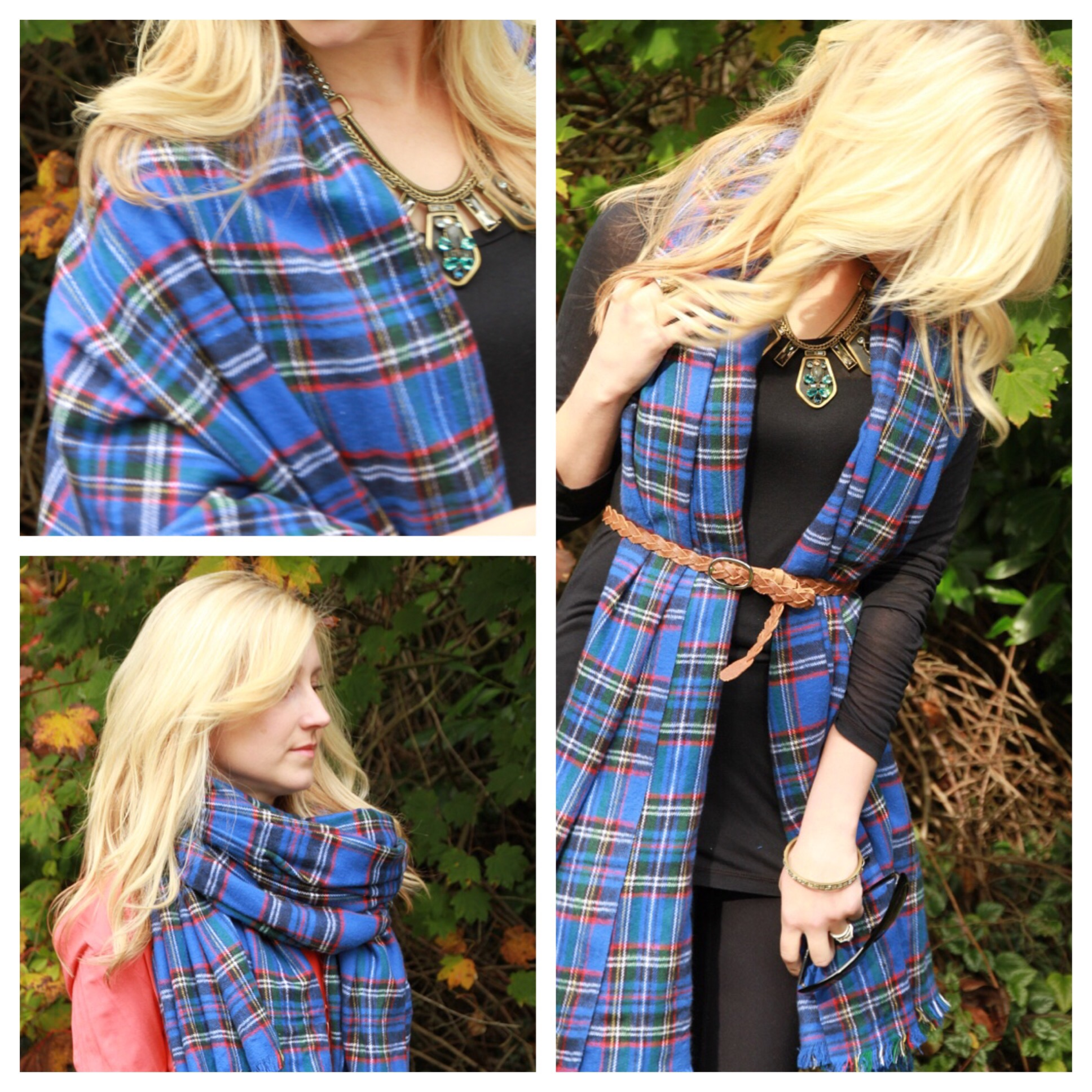 Style Post, How to Wear your Blanket Scarf