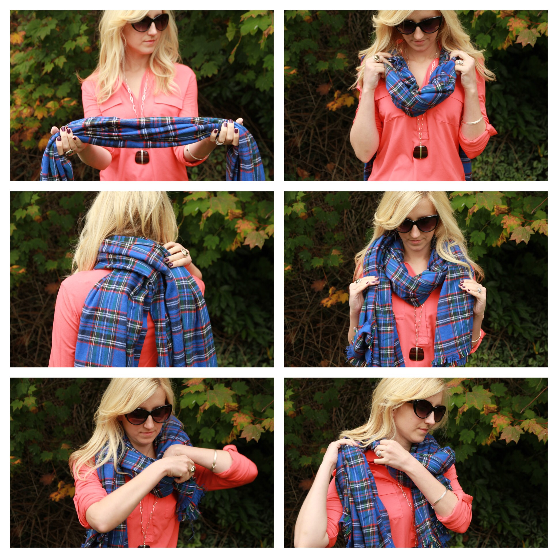 Style Post, how to tie your blanket scarf
