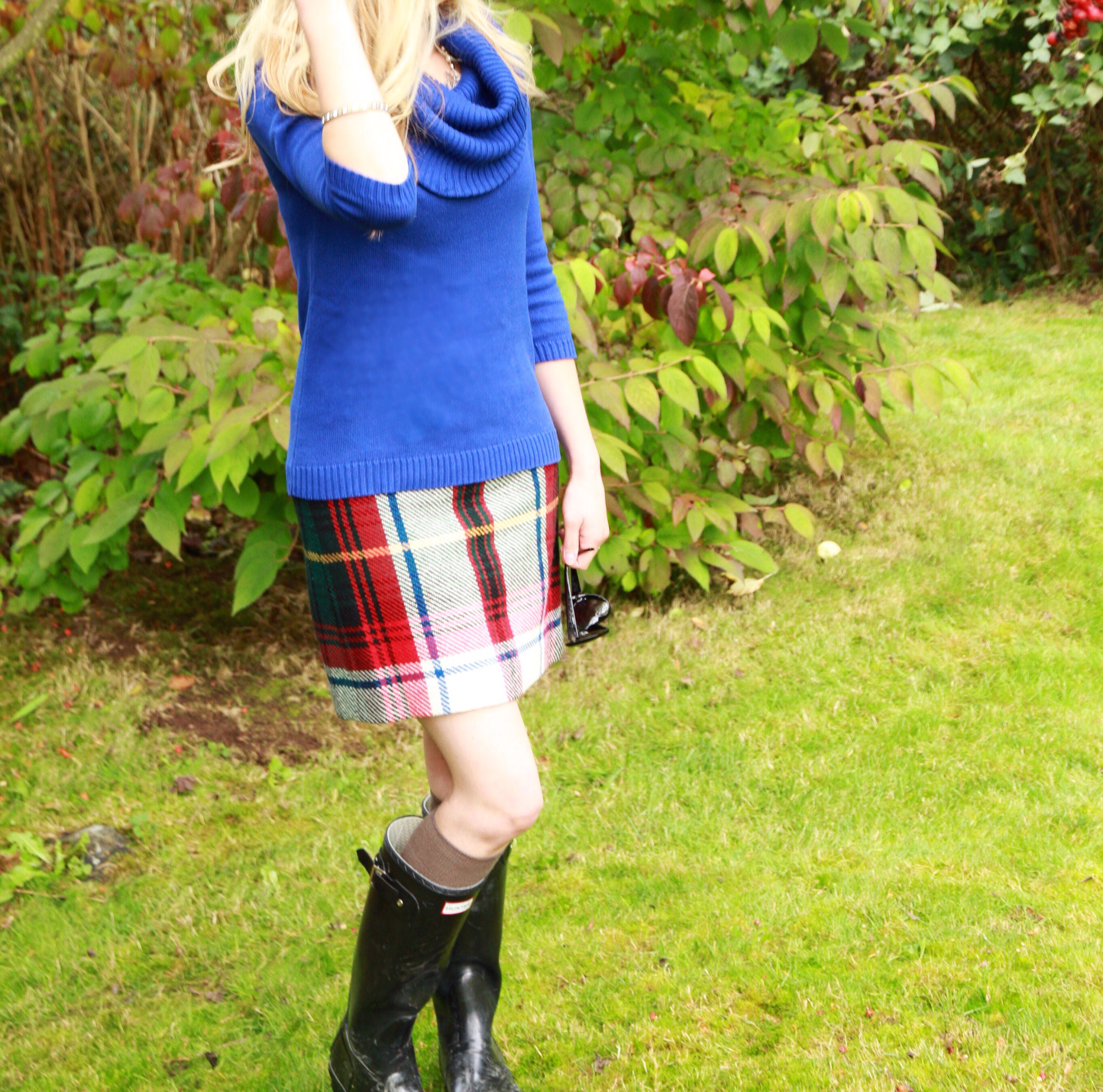 Style Post, Dressing Up Rain Boots