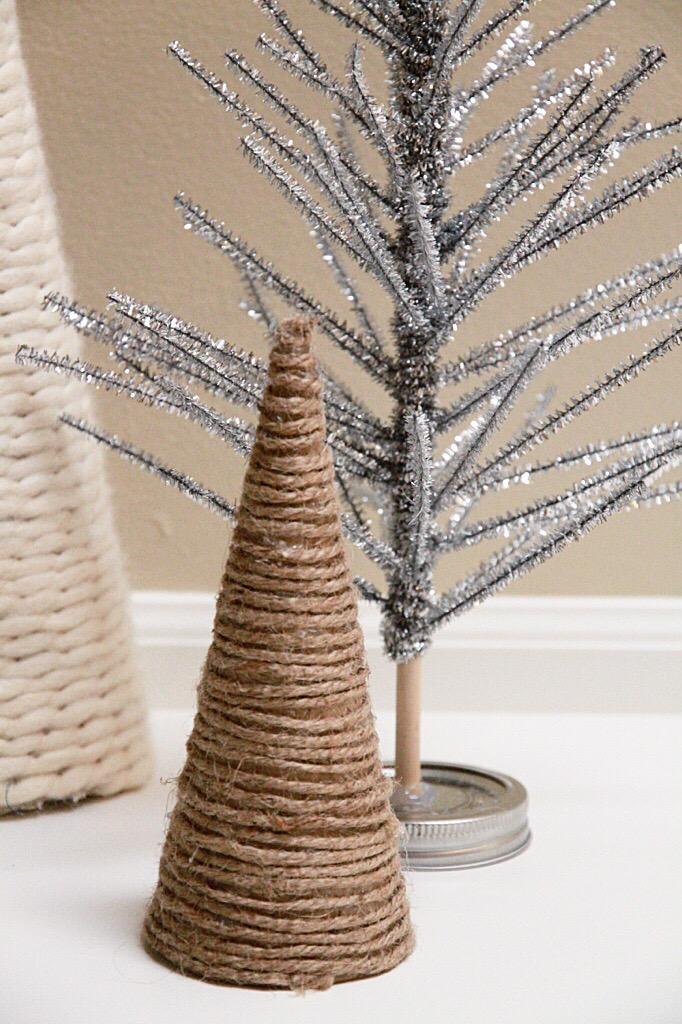 DIY Post – Easy Chenille Stem Christmas Trees