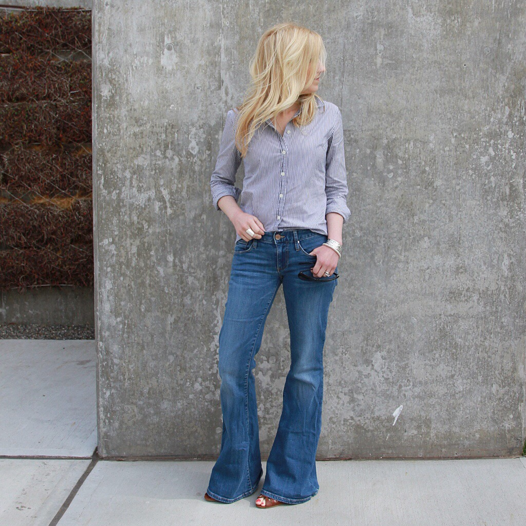 Style Post – Flared Jeans and Traditional Pieces