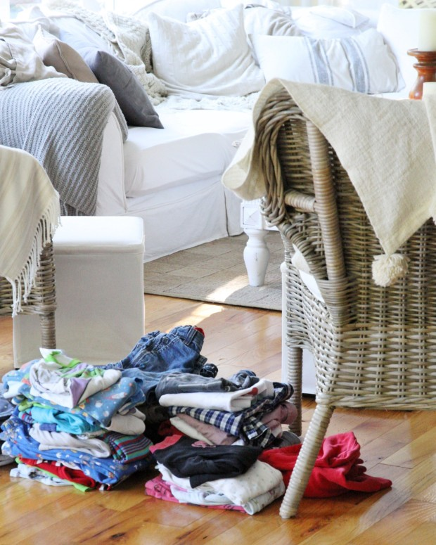 Decluttering Clothing - A Journey to Sparking Joy