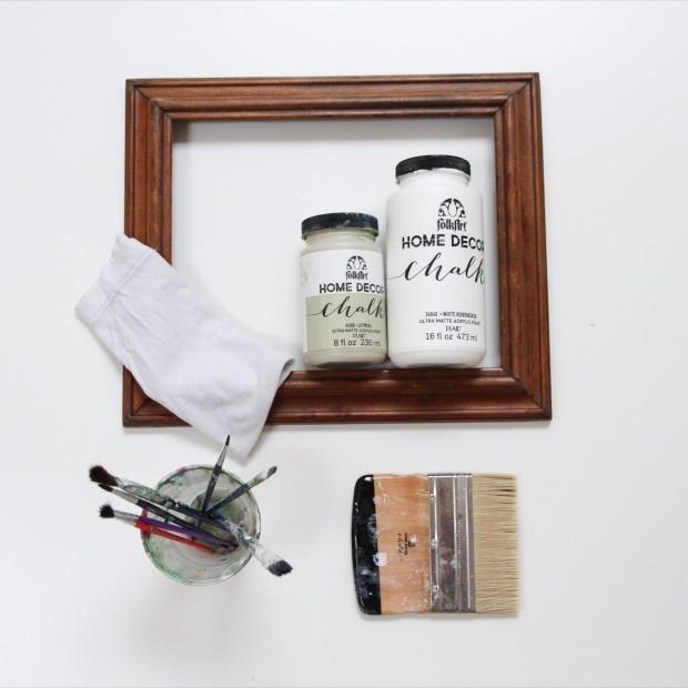 DIY Weathered Wash Paint Technique