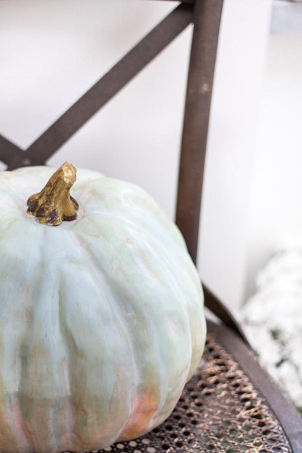 diy-painted-heirloom-pumpkin6