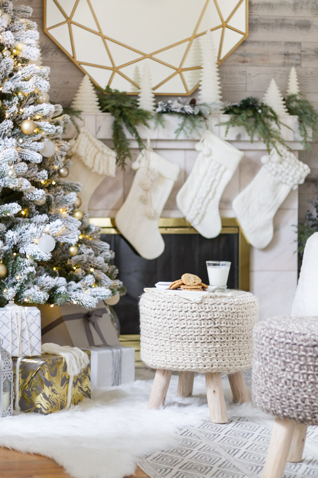 cozyandneutralchristmasdecor21 - Neutral Christmas Decor