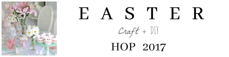 Easter craft hop graphic.