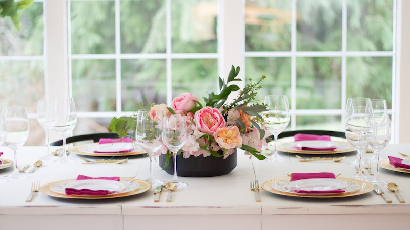 Styled and Set – Valentine's Day With Pink and Gold