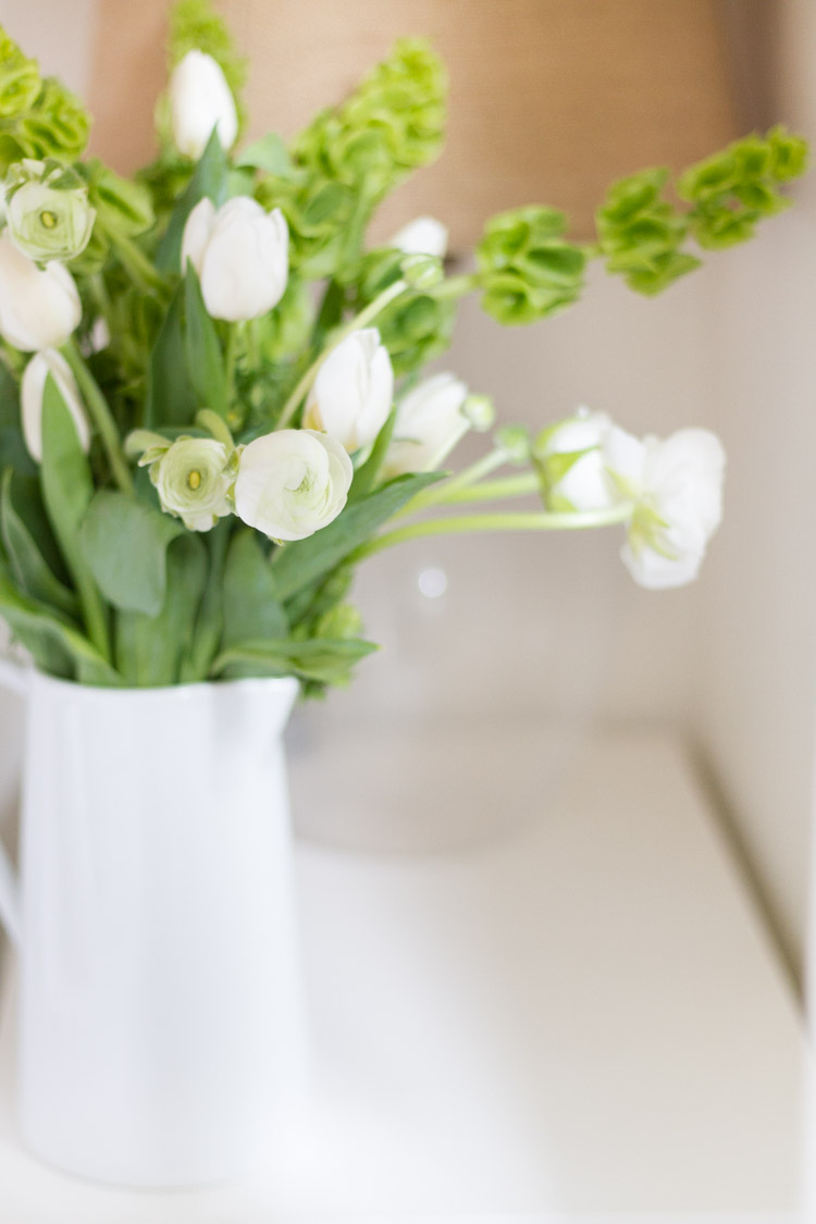 Spring In Our Home - A Tour of Our Living Room and Bedroom