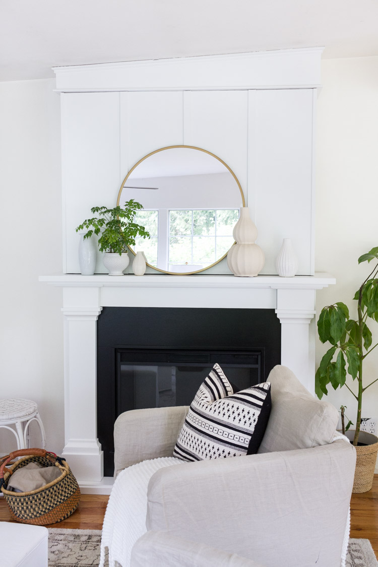 Simple Summer Mantel 3