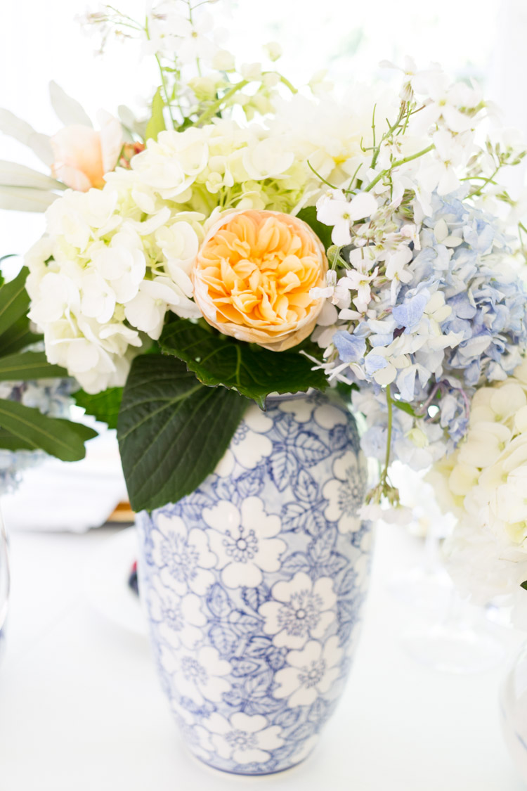 How To use color with Your neutral table decor including accent plates and vases