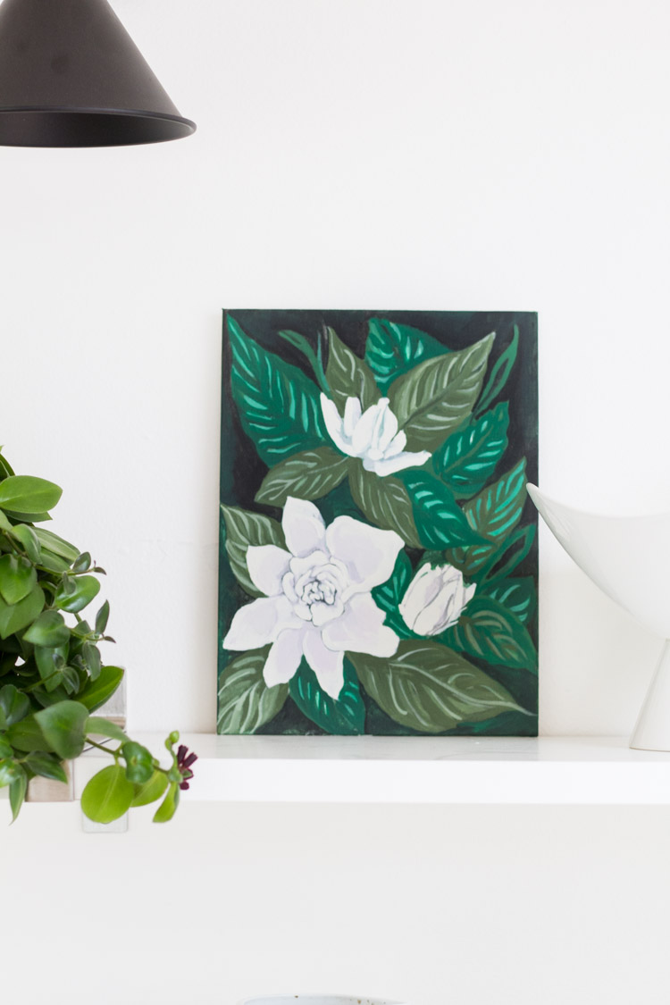 Summer Gardenia Print - Free Download