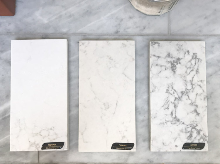 Samples of quartz counters.