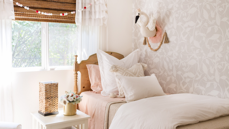 Creating Kid's Spaces That Grow With Them and A Bedding Refresh