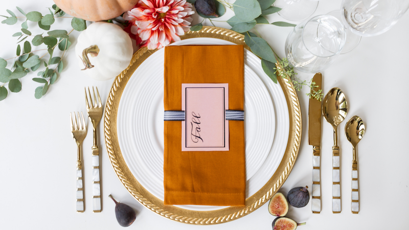 Fall Napkin Cards – Free Printable
