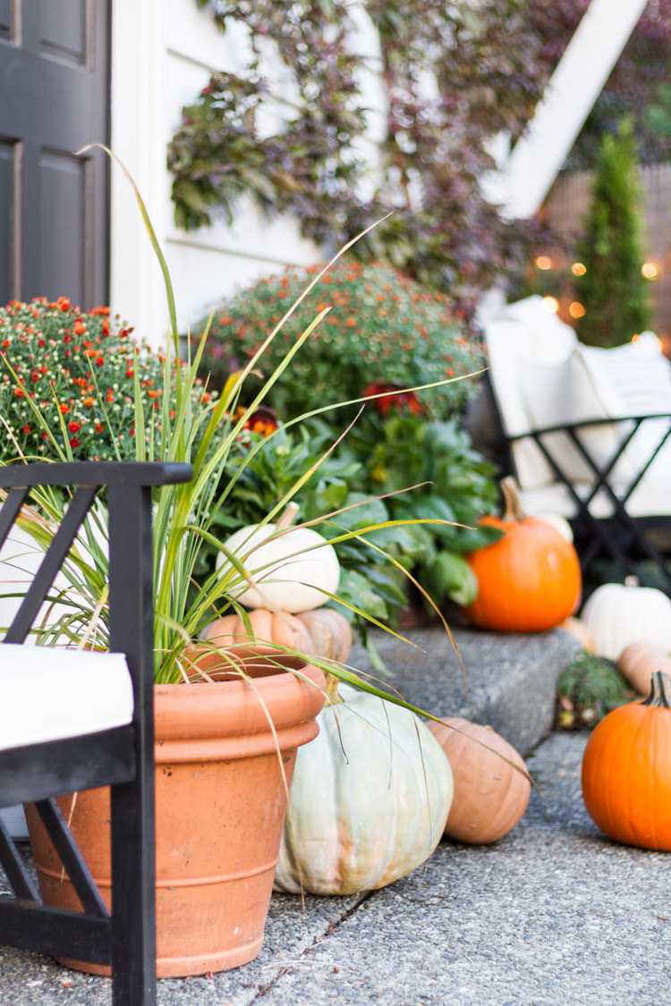 Fall Porch - Seasons of Home Holiday Series
