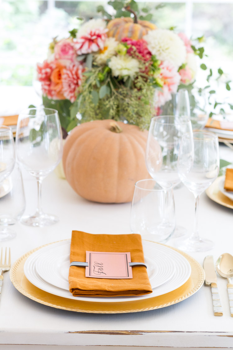Fall Tablescape - Seasons of Home Holiday Decor Series 4