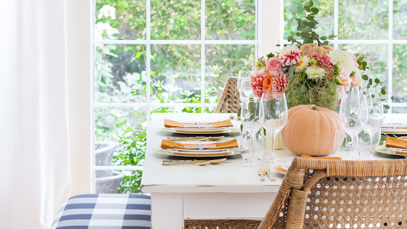 Fall Tablescape – Seasons of Home Holiday Decor Series