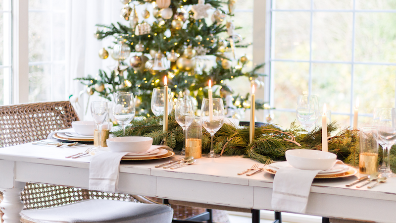 Christmas Entertaining – Styled + Set Series