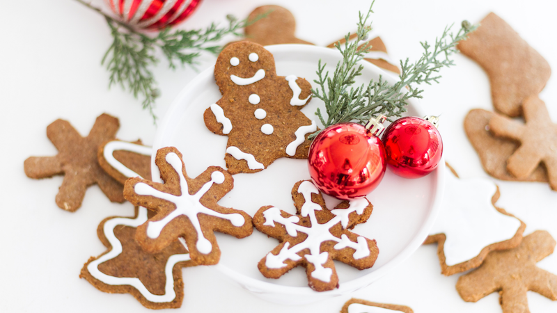 Gluten and Dairy Free Gingerbread Sugar Cookies