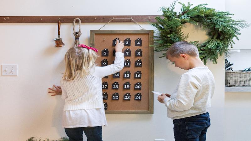 Little House Advent Calendar