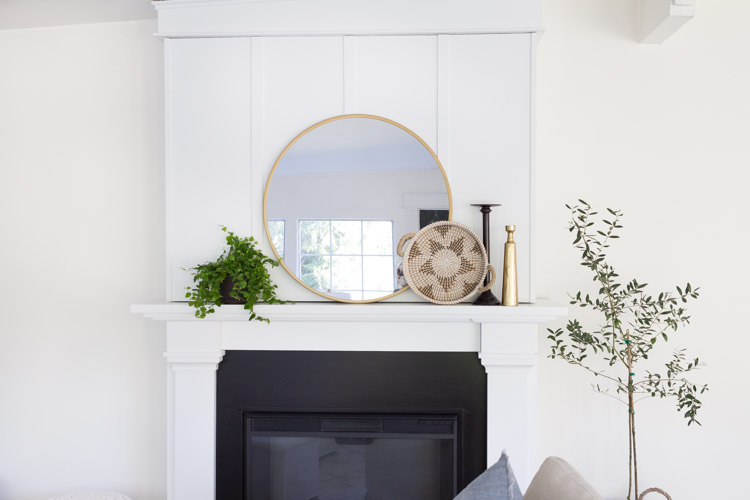 A Simple Spring Mantel