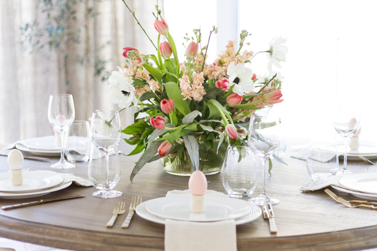 Spring Entertaining with Shades of Pink