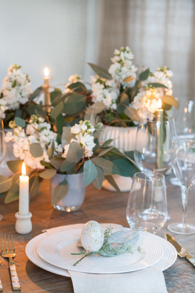 Sweet and Simple Easter Tablescape 9