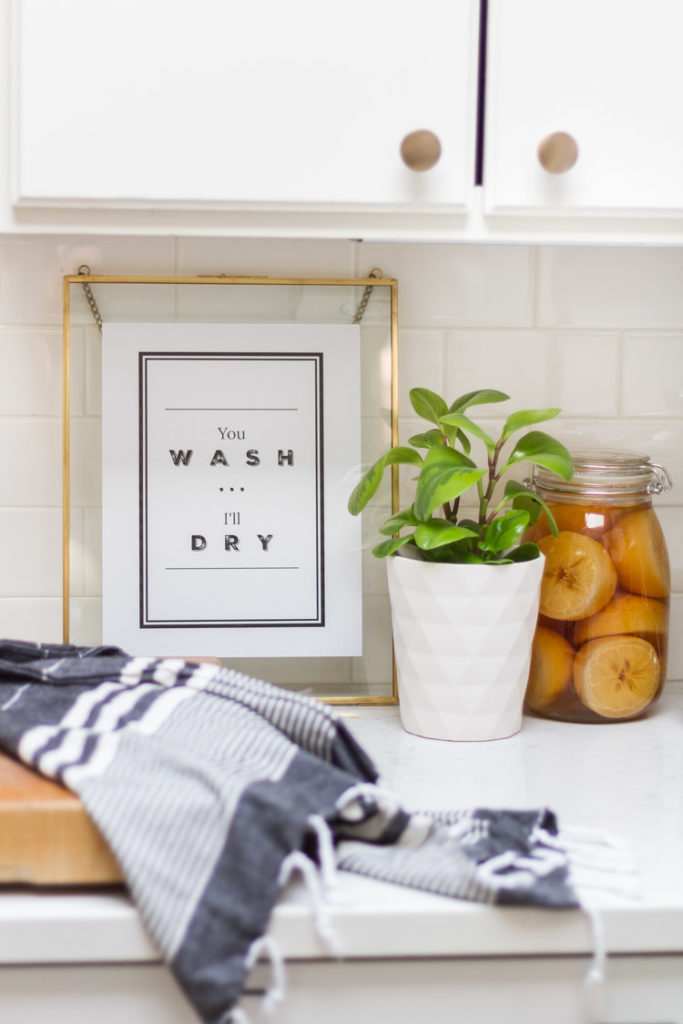 You Wash... I'll Dry Everyday Printable