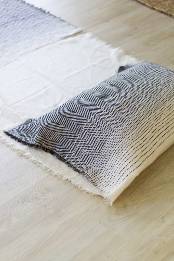 DIY Scarf Pillow