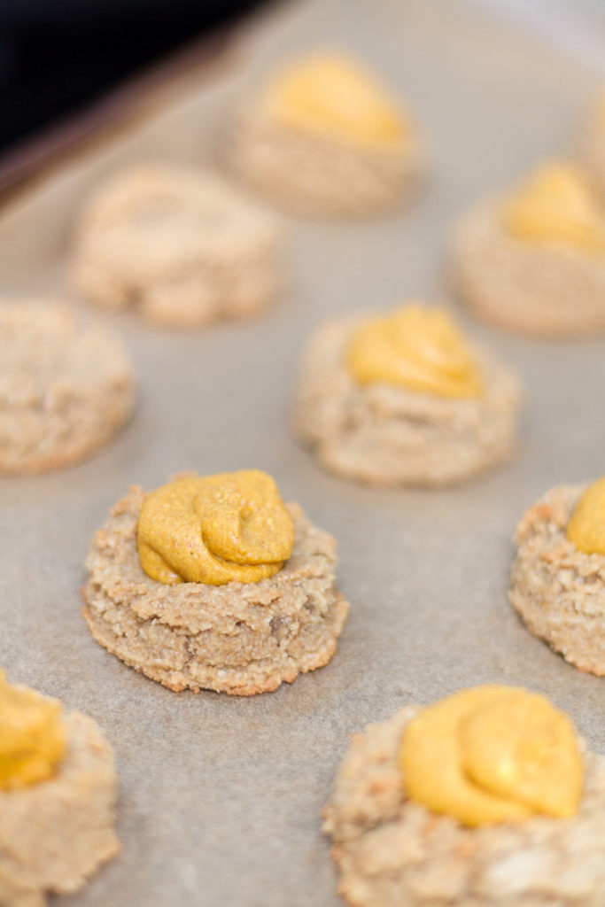Gluten-Dairy Free Pumpkin Thumbprint Cookies 6