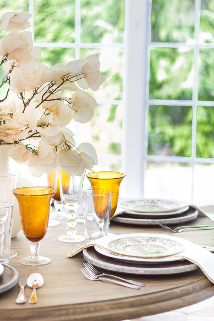 A Harvest Table Setting for the Season