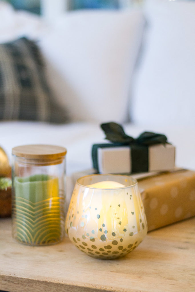 DIY Gift - Gold Detailed Candle Votive