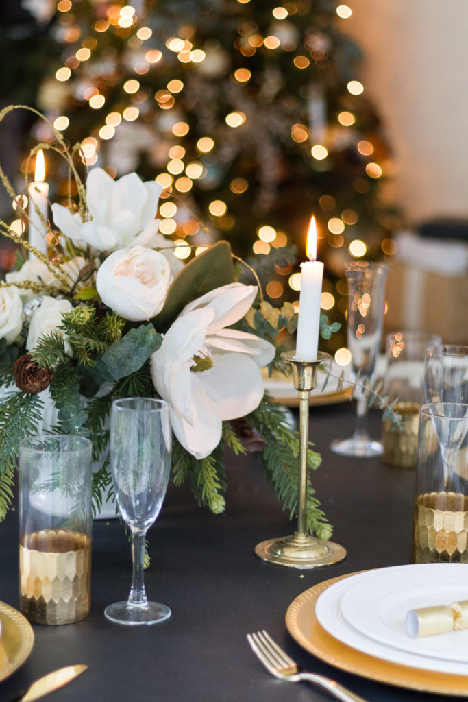 A New Year's Eve Tablescape 1
