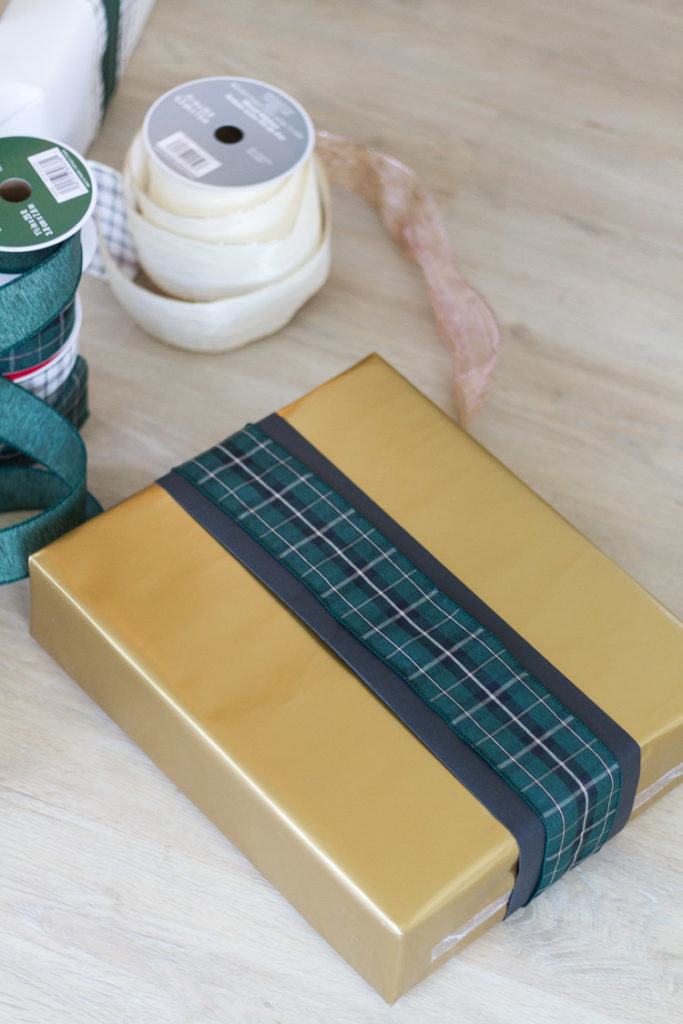 Gift Wrapping Basics - Wrapping Without A Bow 8