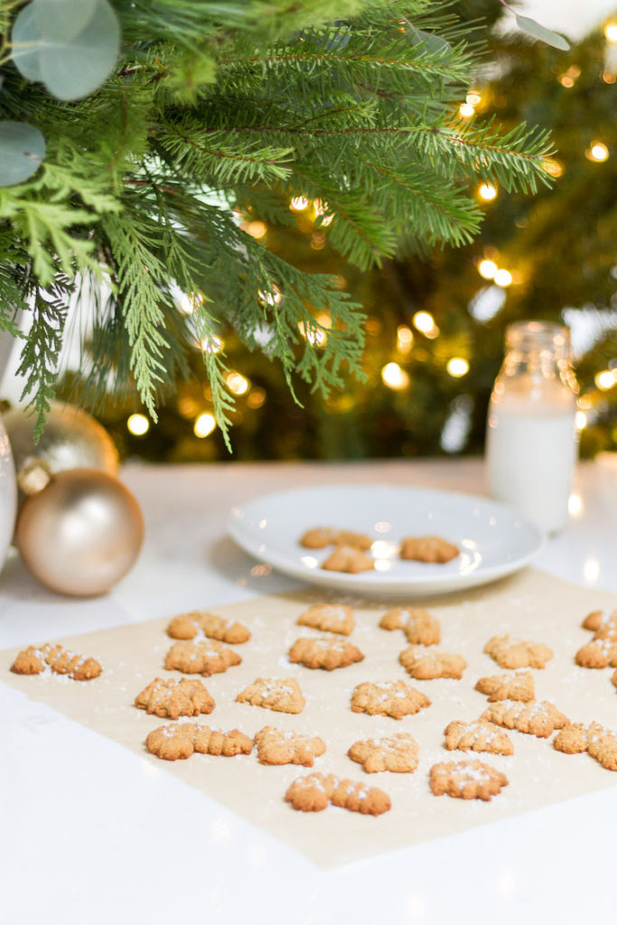 Gluten and Dairy Free Spritz Christmas Cookies!