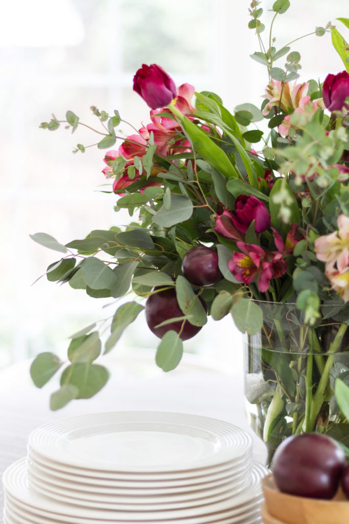 A Valentine's Day Floral Arrangement
