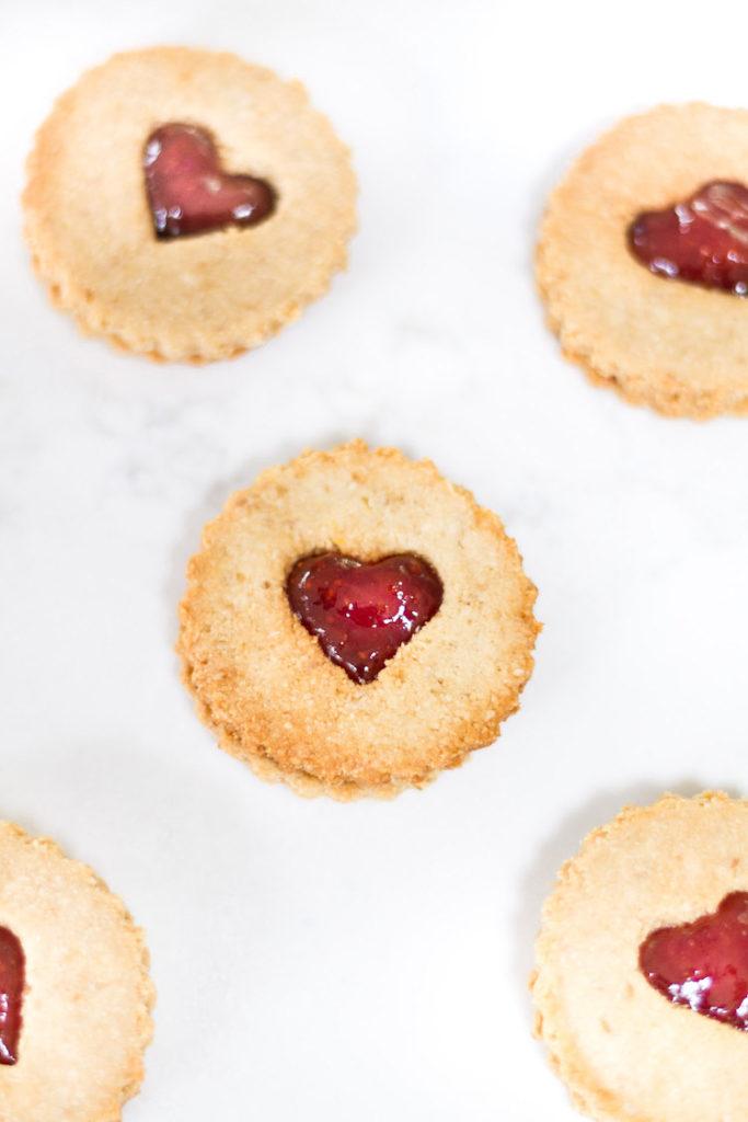 Gluten-Dairy - Free Linzer Cookies