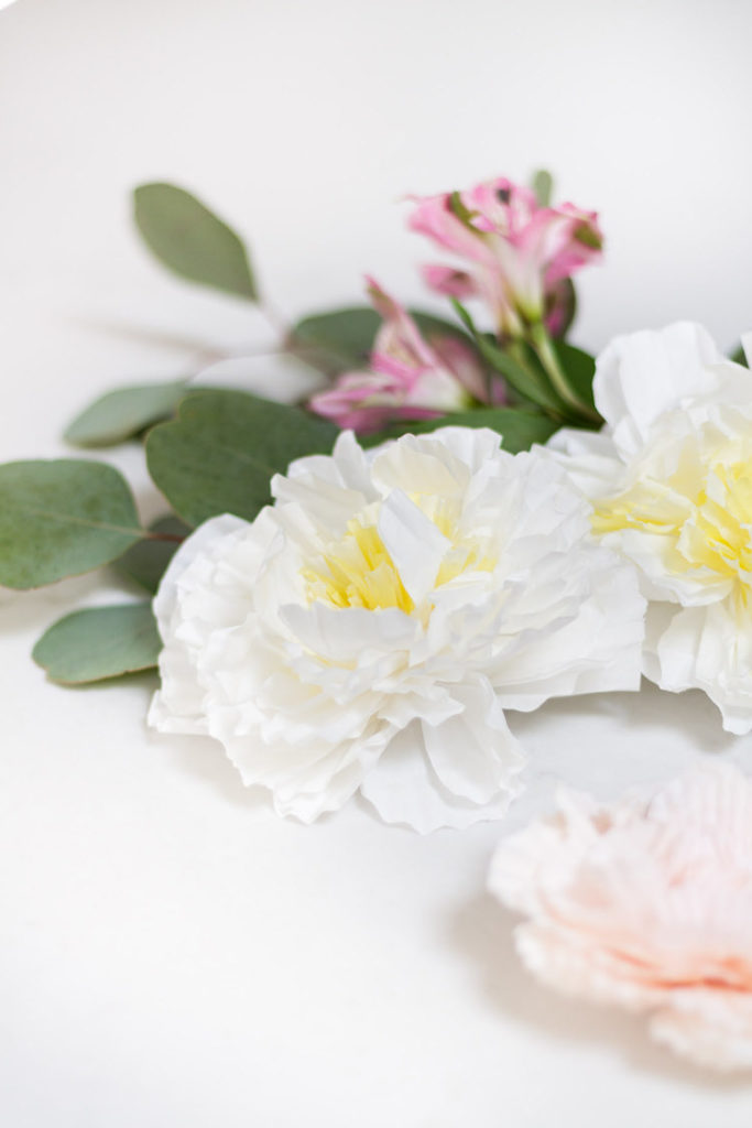 DIY Cupcake Liner Flowers_