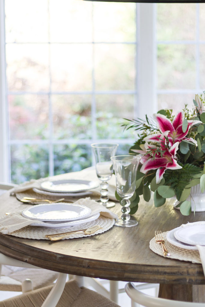 A Spring Tablescape