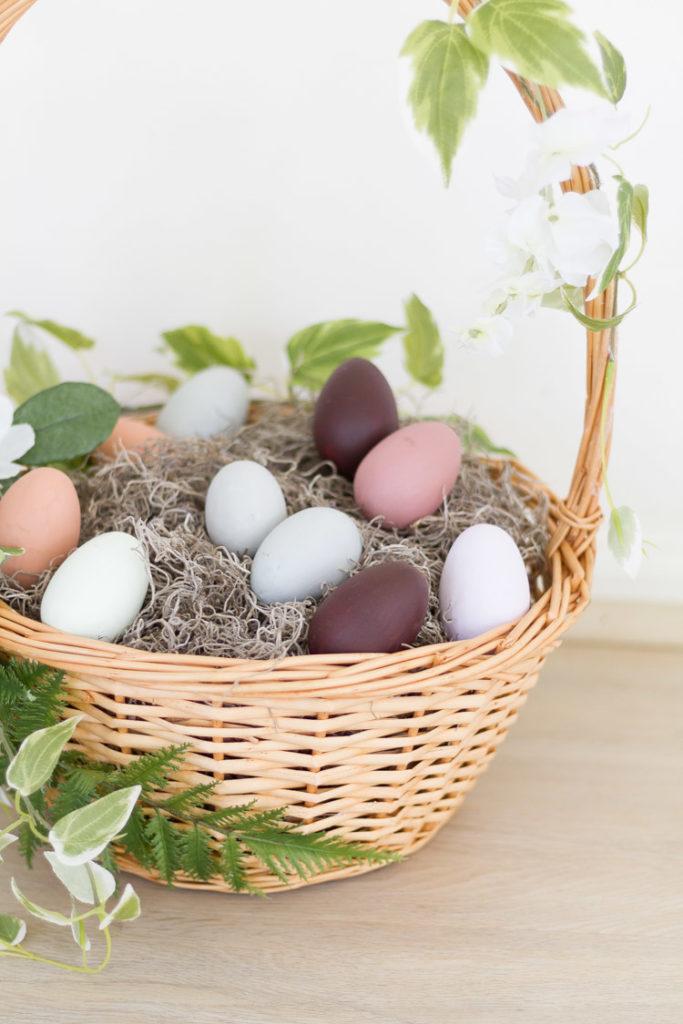 DIY Floral Easter Basket