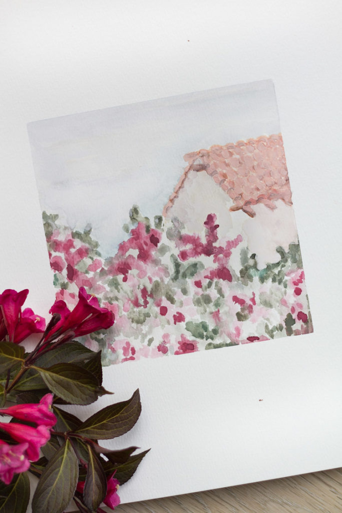 Dreaming of Summer Bougainvillea Printable