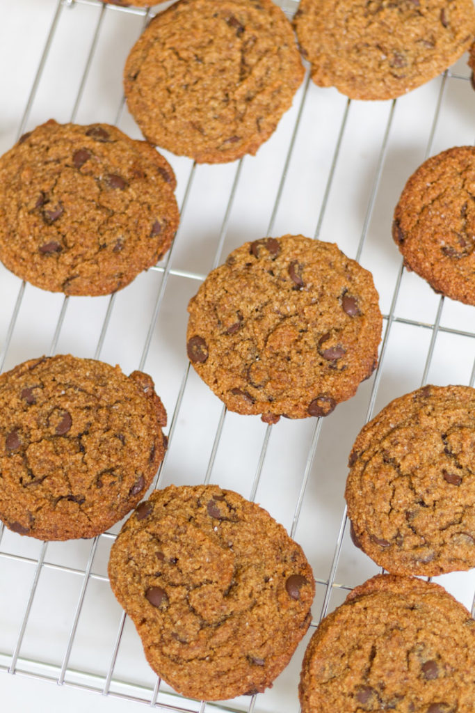 The Best Gluten Dairy Egg Free Chocolate Chip Cookies