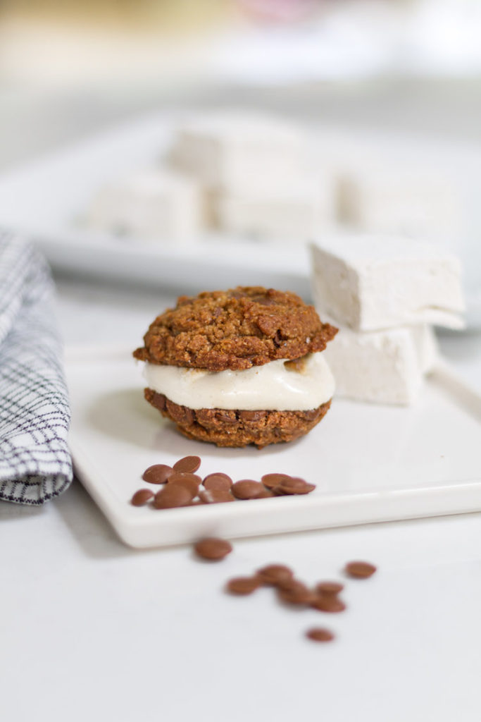 Gluten and Dairy Free S'mores Chocolate Chip Cookies