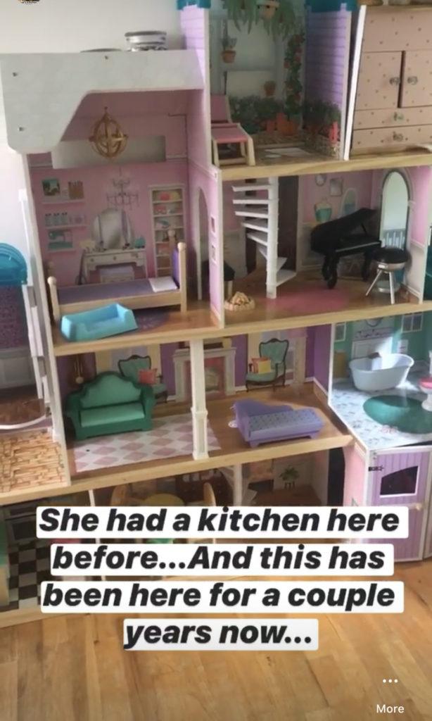 A Dollhouse Makeover