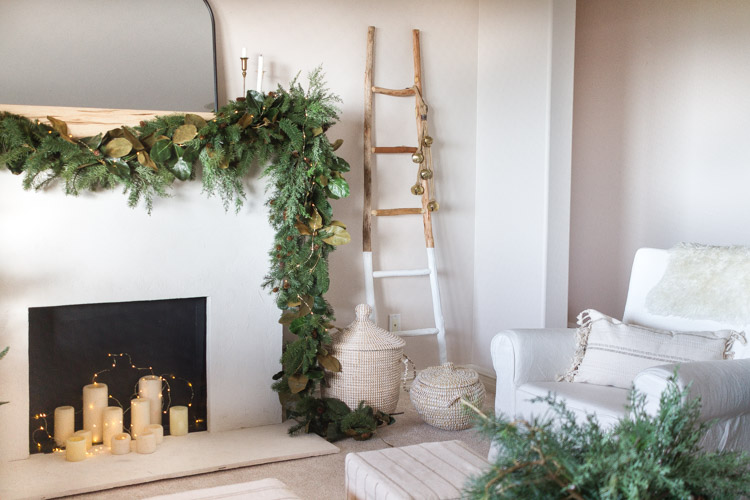 Budget Friendly Christmas Decor In Our Family Room