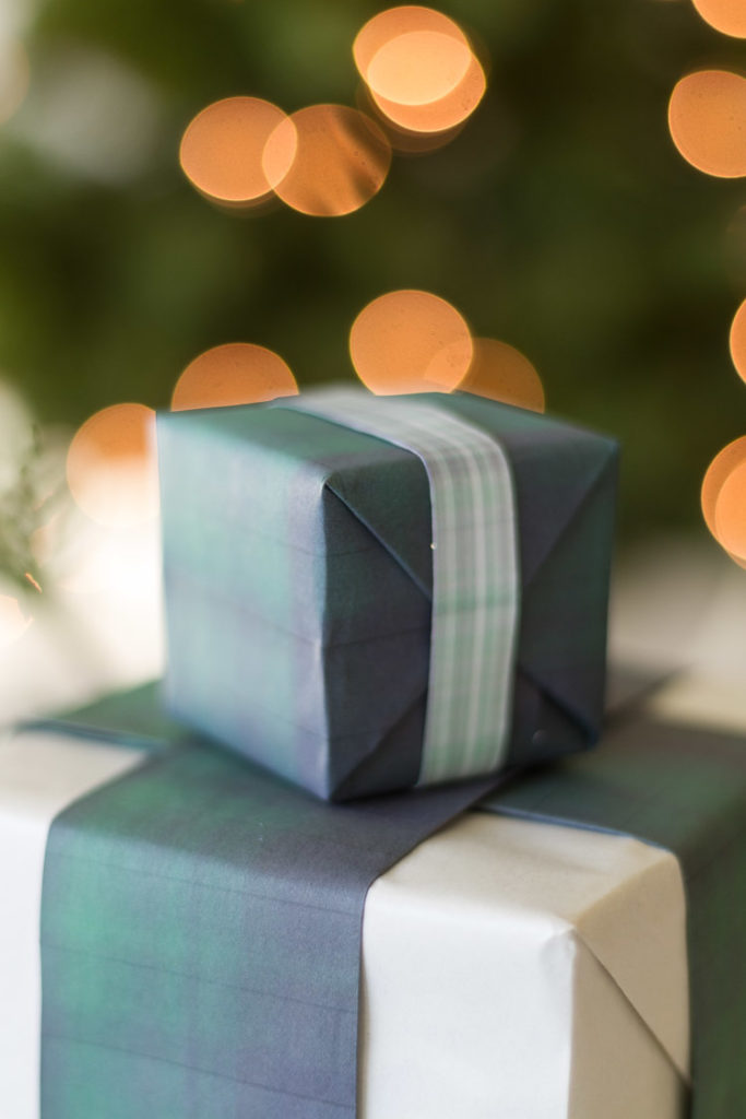 Christmas Plaid Printable Paper