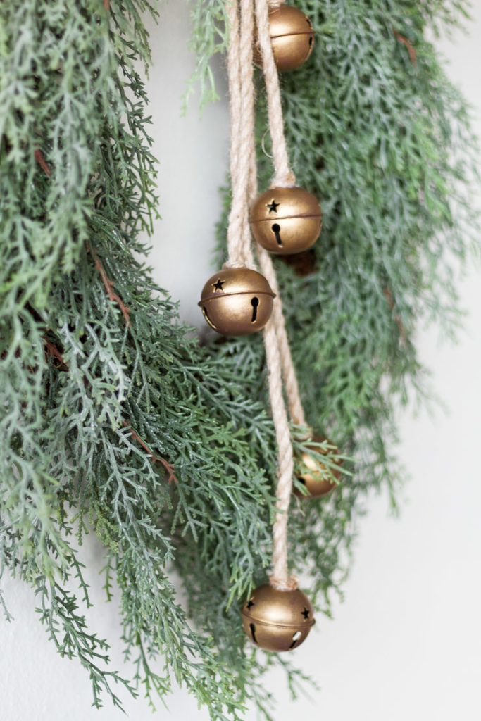 DIY Christmas Jingle Bells Hanging Decoration