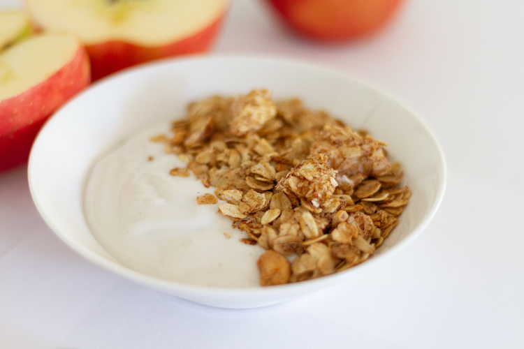 Cinnamon Apple Granola Recipe