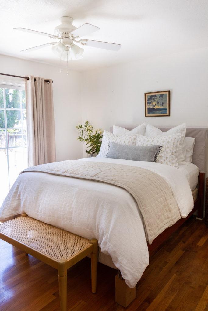 A Coastal Inspired Bedroom Refresh